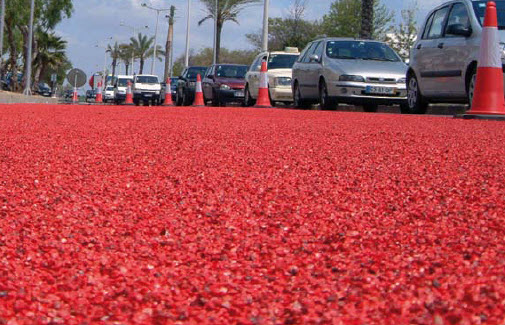 Cold Grip Anti Skid Surface - used by Caltrans DOT- choose natural and colored aggregate options